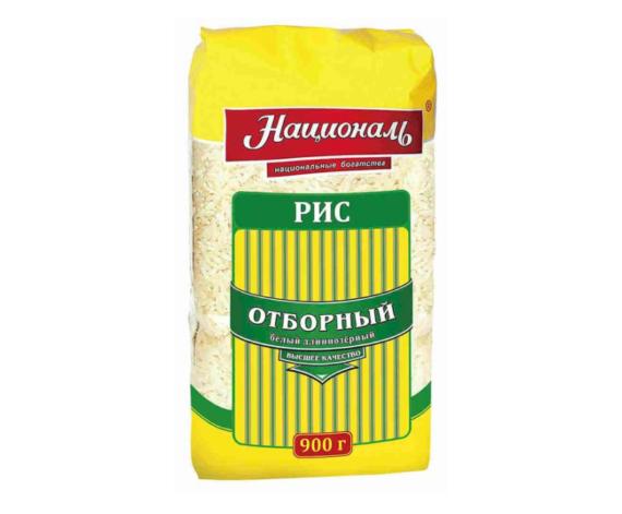 Рис Отборный ТМ 'Националь' 900 гр.