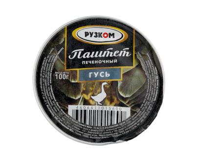Паштет печеночный гусь Рузком ламистер, 100 г