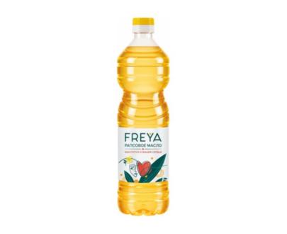 """Масло рапсовое рафинированyое дезодорированное""""Freya"""", 800 мл"""