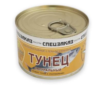 "Тунец ""Спецзаказ"", 250 г ж/б"