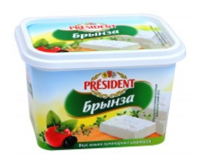 "Сыр ""Брынза"" Президент, 45% 500 г"
