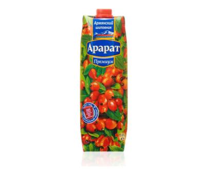 """Нектар из шиповника """"Ararat Premium"""", 1 л"""