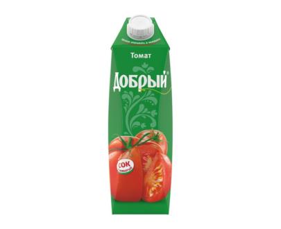 "Сок Томат ""Добрый"", 1 л"