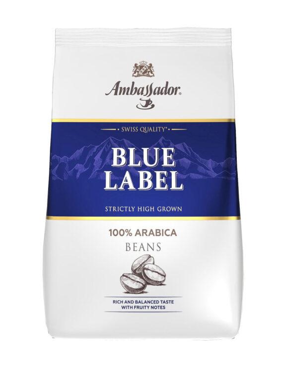Кофе Ambassador Blue Label в зернах, 200гр.