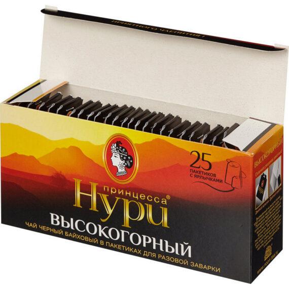 Чай черный Принцесса Нури «Высокогорный» 25пак.
