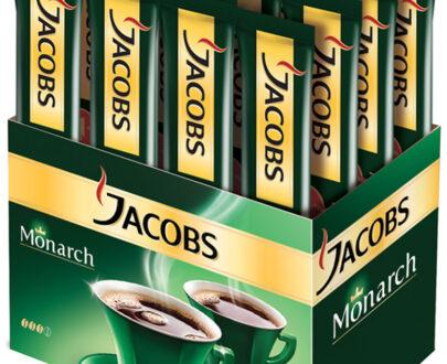 Кофе Jacobs Monarch растворимый сублимированный 26пак.