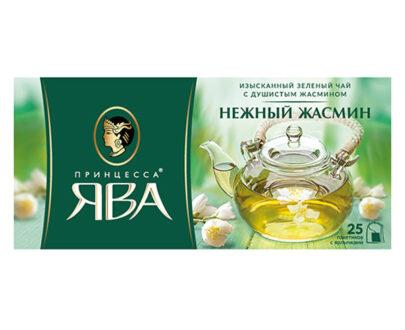Чай зеленый Принцесса Ява «Нежный жасмин» 25пак.