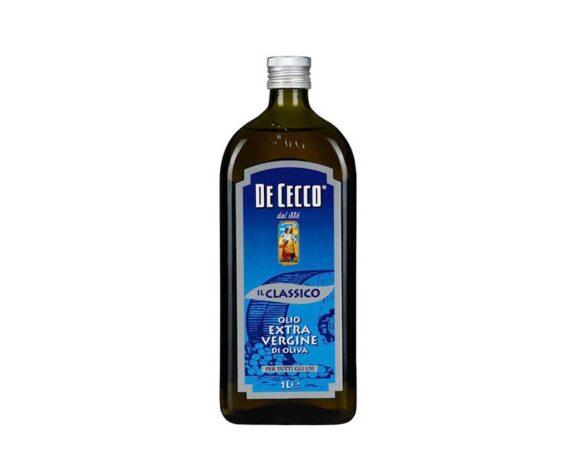 Масло оливковое De Cecco нерафинированное 1л
