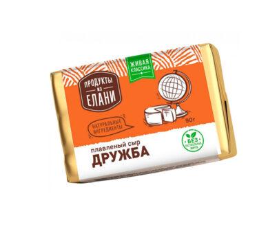 Сыр плавленый Продукты из Елани Дружба 90гр.