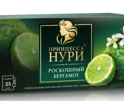 Чай черный Принцесса Нури «Роскошный бергамот» 25пак.