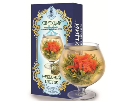 Китайский чай КОНФУЦИЙ «Небесный цветок», 80гр.