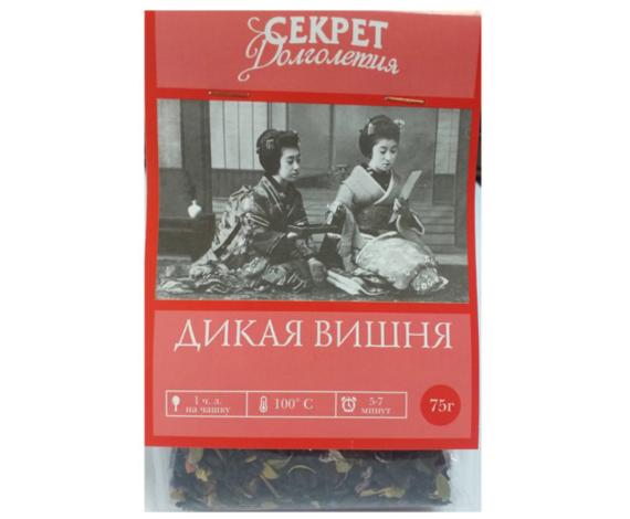 Чай «Дикая вишня», 75 гр.
