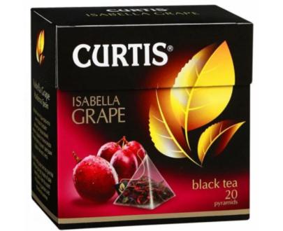 Чай Curtis Isabella Grape черный байховый 20пак