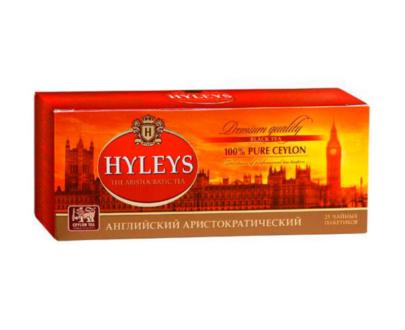 Чай Hyleys черный Аристократический, 25 пак