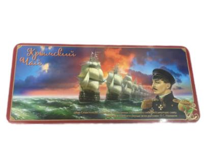 Чай «Адмирал Нахимов» шкатулка с магнитом, 100 гр.