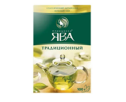 Чай зеленый Принцесса Ява 100гр.