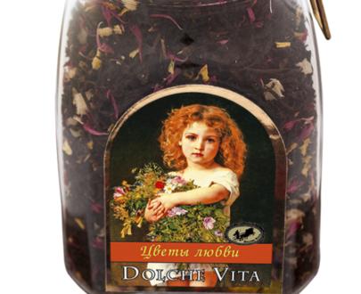 Чай «Дольче Вита» Цветы Любви 160 гр.