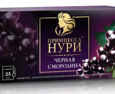 Чай черный Принцесса Нури «Черная смородина» 25пак.