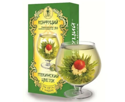 Китайский чай КОНФУЦИЙ «Пекинский цветок», 80гр.