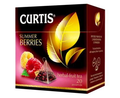 Чай Curtis Summer Berries черный байховый 20пак
