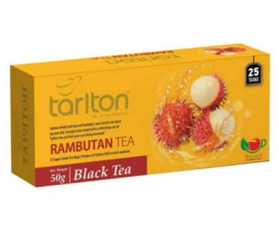 Чай Tarlton Rambutan черный 25 пак