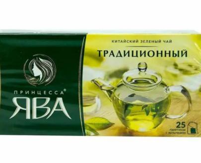 Чай зеленый Принцесса Ява 25пак.