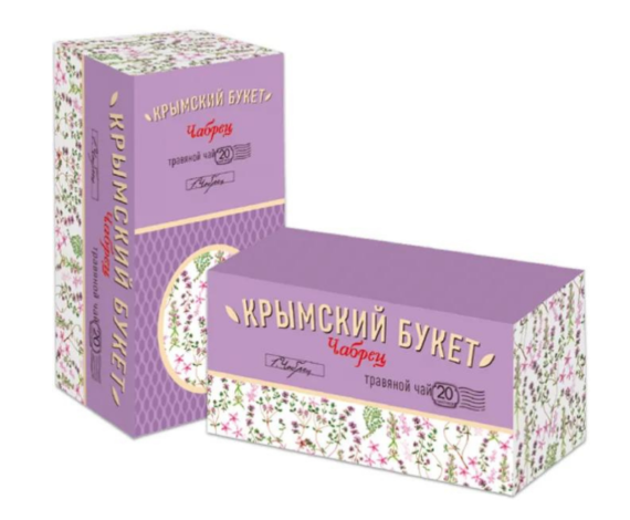 Чай травяной Чабрец «Крымский букет» 20 пак.