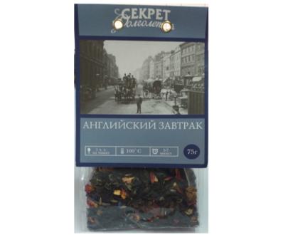 Чай «Английский завтрак», 75 гр.