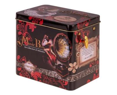 Чай-музыкальная шкатулка Chelton «Танго» в асс., 100гр.