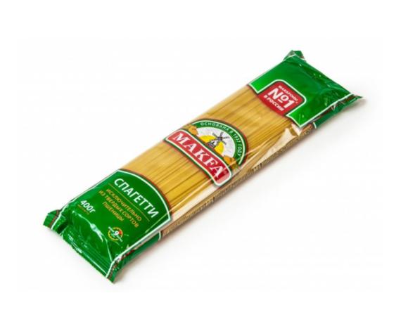 Макароны Макфа спагетти 400гр.