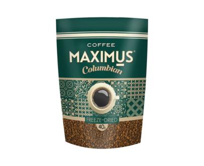 Кофе Maximus «Columbian» растворимый сублимированный 40гр.