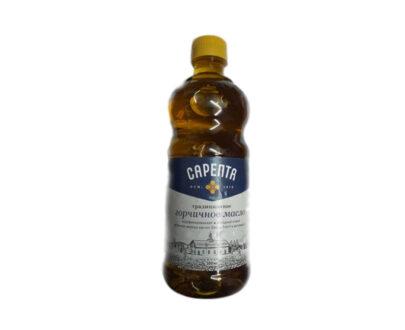 Масло «САРЕПТА» горчичное нераф., 500мл.