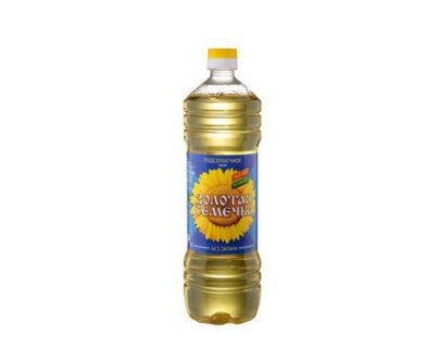Масло подсолнечное рафинированное Золотая семечка 1 л.