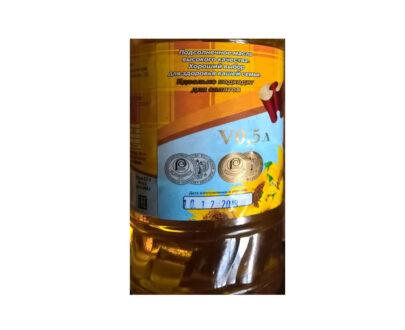 Масло Кубанский маслодел подсолнечное нерафинированное 1л.