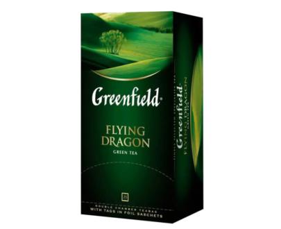 Чай зеленый Greenfield Flying dragon 25пак