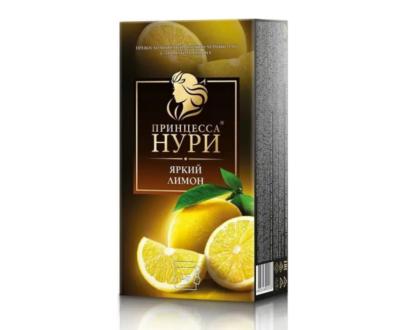 Чай черный Принцесса Нури «Яркий лимон» 25пак.