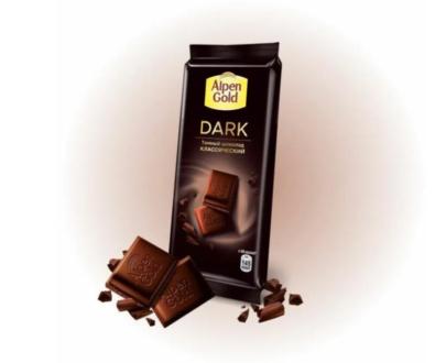 Шоколад Alpen Gold темный классический 80гр.