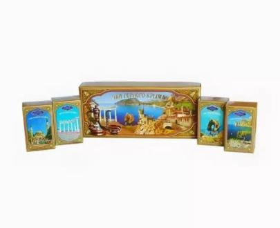 Чаи горного Крыма «Золотая упаковка» 180гр.